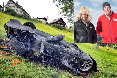 How two 'Grand Tour' stars cheated death