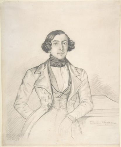 Count de Ranchicourt by Théodore Chassériau, c.1836