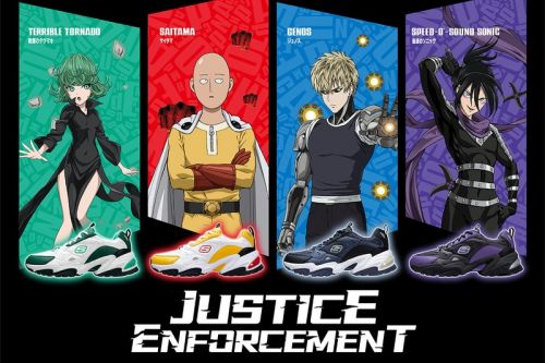 Skechers Drops a Colorful 'One Punch Man' Stamina 2.0 Collection
