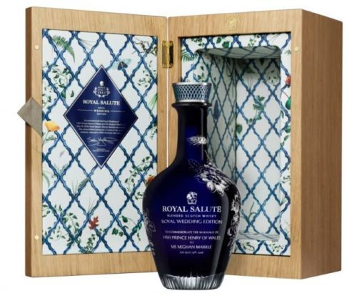 Royal Salute Launches $10,000 Royal Wedding Edition Whisky