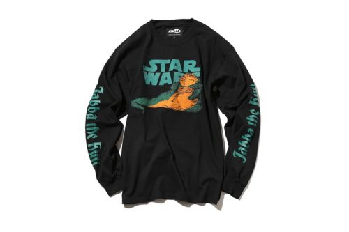 Atmos LAB's 'Star Wars' Jabba the Hutt Tees Are Now Available for Pre-Order