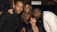 Chrissy Teigen And John Legend Still Saying Sorry For 'Major Blowout' At Kimye Wedding