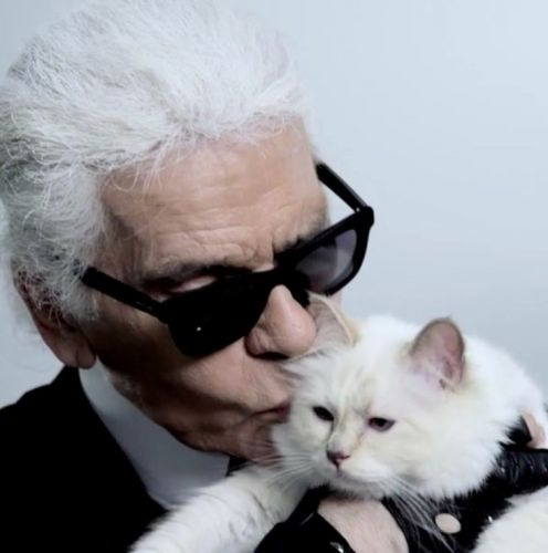 Karl Lagerfeld is releasing a make-up collection from beyond the grave