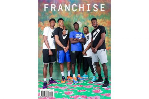 Giannis Antetokounmpo Covers Latest Issue of 'Franchise' Magazine