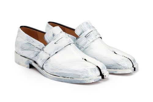 Maison Margiela's Painted Tabi Loafers Don't Care About Perfection