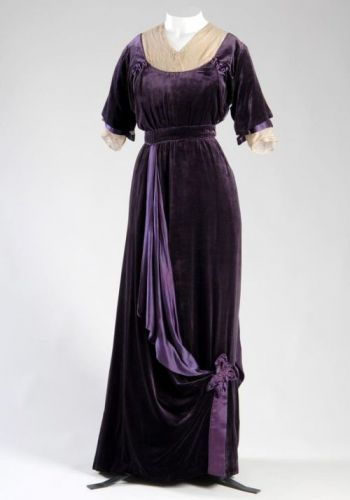 Afternoon DressJeanne Paquin1910Chicago History Museum Pinterest
