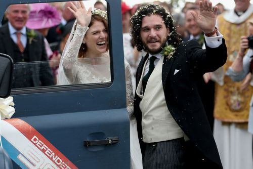'Game of Thrones' Stars Rose Leslie & Kit Harington Got Married