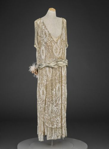 Evening Dressc.1920-1922Indianapolis Museum of Art