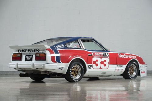 Paul Newman's Championship 1979 Datsun 280ZX Race Car Is Up for Auction