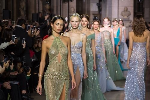 Sparkling memories from the GEORGES HOBEIKA Haute Couture Spring