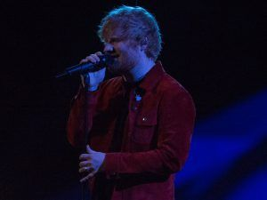 Fans Think Ed Sheeran Is Wearing A Wedding Ring At The BRIT Awards
