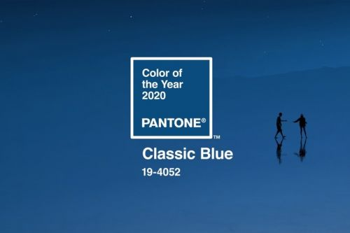 """Pantone Hails """"Classic Blue"""" as Color of the Year 2020"""