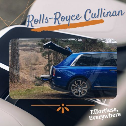 Rolls-Royce Cullinan - Effortless, Everywhere
