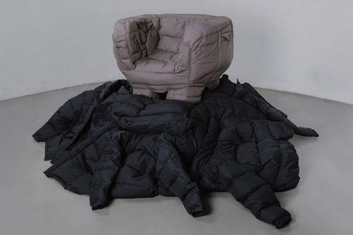 Yeon Jin-Yeong Reconstructs 'Padded Chairs' Out of Recycled Down Jackets