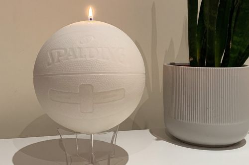 Prove Ball Is Life With cent.ldn's OG SPALDING BASKETBALL CANDLE