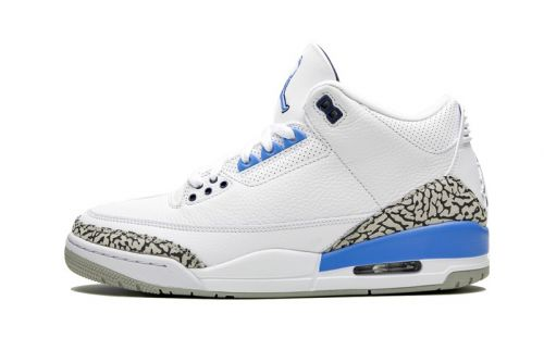 "Detailed Look: Air Jordan 3 ""UNC"""