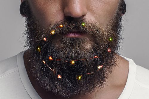 Beards: So sexually attractive they can get lit for the holidays