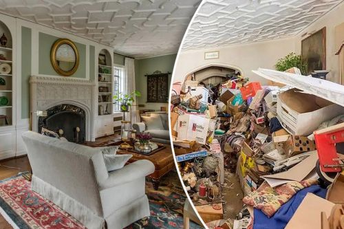 How this 'Hoarders' nightmare was saved and turned into a luxe B&B