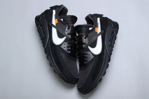 "A Closer Look at the Off-White™ x Nike Air Max 90 ""Black"""