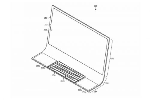 Apple Files Patent for Ambitious All-In-One iMac Design