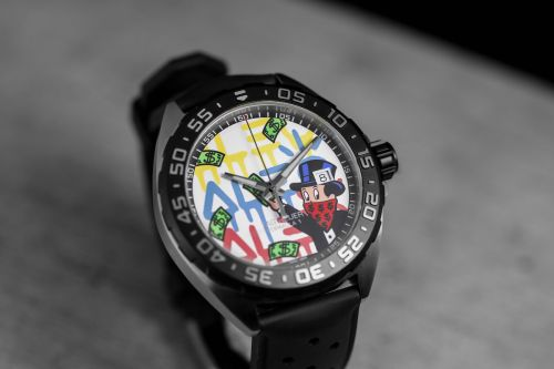 Tag Heuer Collaborates With Street Artist Alec Monopoly