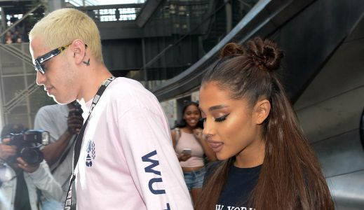 Ariana Grande Took Her Ponytail Out and Revealed Her Natural Curly Hair - See the Photos