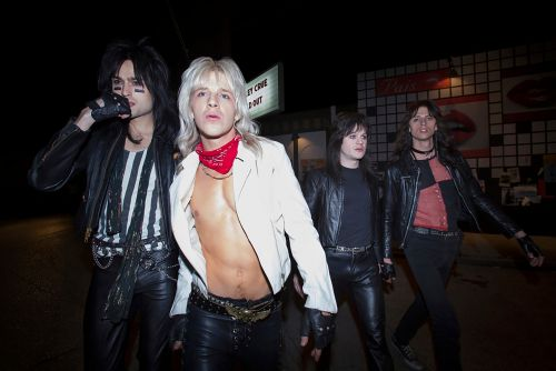 Mötley Crüe Netflix biopic nails band's outrageous hair metal looks