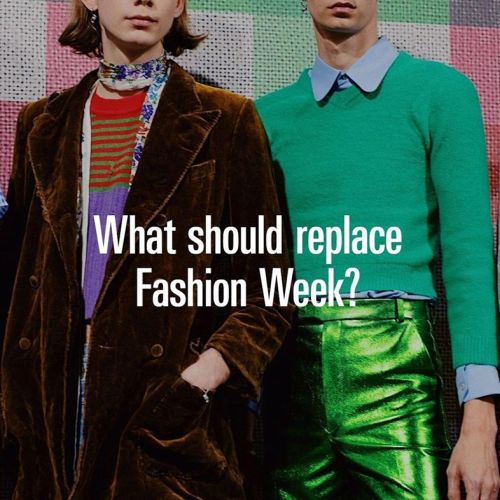 We asked you: what should replace fashion week?