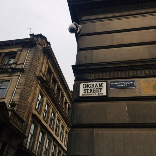 Glasgow streets have been 'renamed' by anti-racism activists