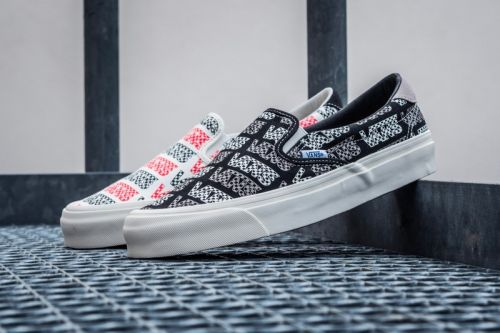 Vans' OG Slip-On 59 LX Gets Hit With an Integration of Classic Motifs