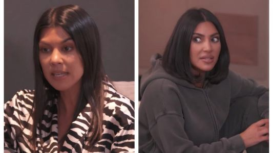 Kim and Kourtney Kardashian Clash Over North and P's Birthday Plans in New 'KUTWK' Clip