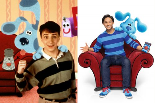 The new host of 'Blue's Clues' watched the original as a kid