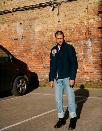 Jaroslav Opoka Embraces Sporty Street Vibes for Euroman