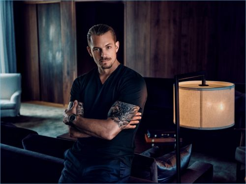 Joel Kinnaman Fronts Carl Edmond Debut Campaign