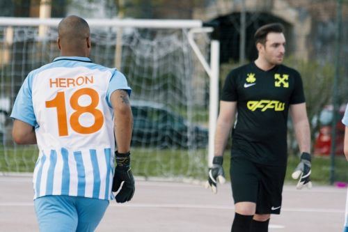 What Went Down at the Heron Preston vs. Off-White™ Soccer Game