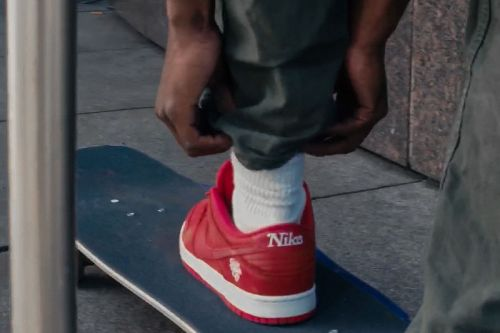 EXCLUSIVE: Girls Don't Cry x Nike SB Dunk Low Showcased On-Foot in Skate Video