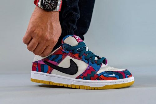 Take an On-Foot Look at the Upcoming Parra x Nike SB Dunk Low Collaboration
