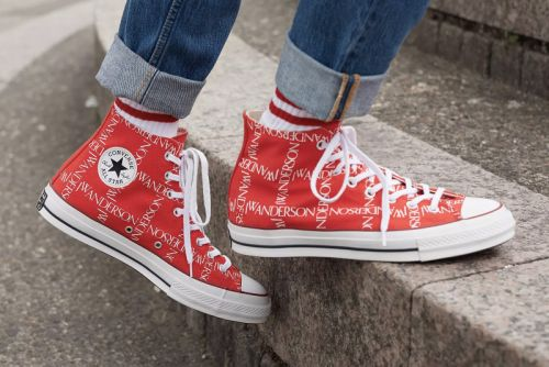 """A Closer Look at the JW Anderson x Converse Chuck Taylor All-Star 70 in """"Scarlet"""""""