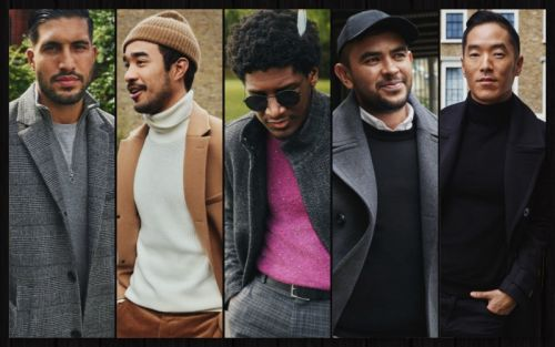 Emre Can, Labrinth + More Don H&M Fall '18 Menswear