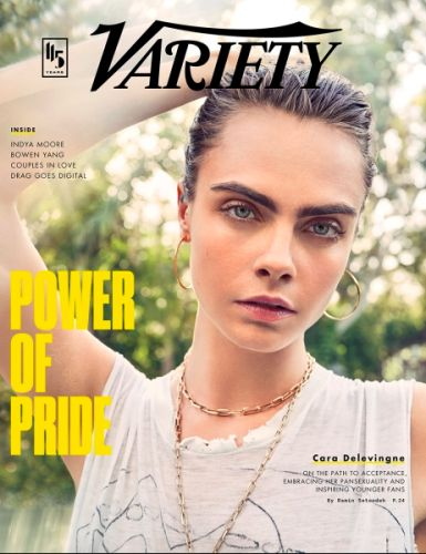 Cara Delevingne Opens Up About Pride and Identifying As Pansexual
