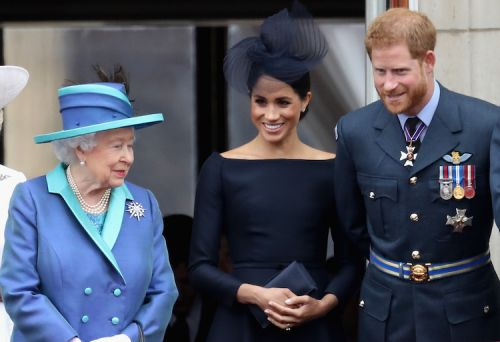 Queen Elizabeth Will Reportedly Have Custody Of Prince Harry And Meghan Markle's Kids