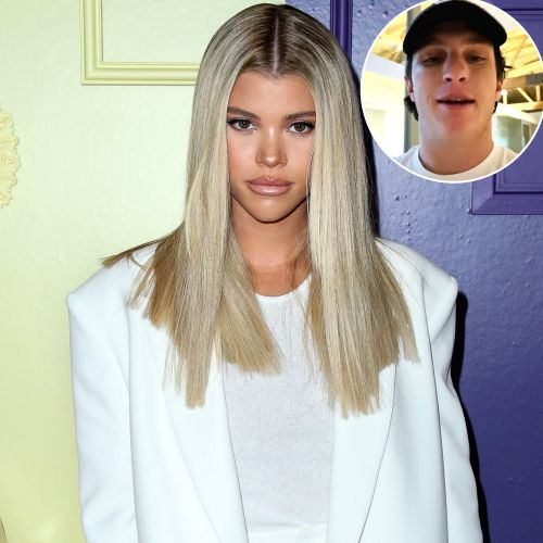 Sofia Richie Supports New Boyfriend Matthew Morton's Matcha Shop With New Photo