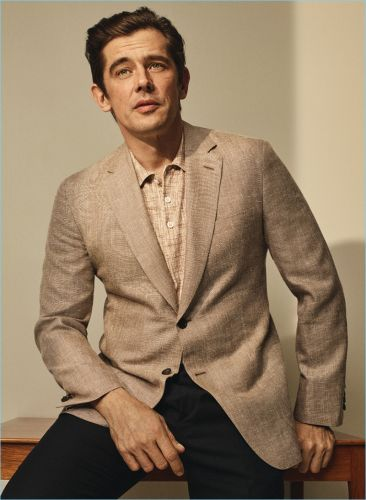 Werner Schreyer Dons Classic Suits for Brioni Spring '18 Catalog