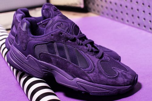 """Adidas's Yung-1 Hits the Scene in a Rich """"Triple Purple"""" Color Scheme"""