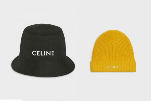 Stay Ahead of the Weather With CELINE's Branded Headwear Cap-Sule