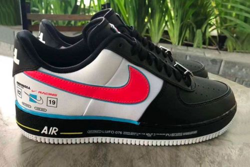 Nike Puts Together a Racing Logo-Inspired Air Force 1 Colorway
