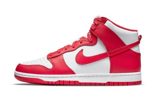 """Official Images of the Nike Dunk High """"University Red"""""""