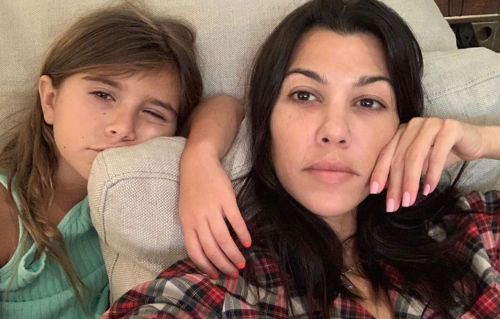 Family Heirloom! Kourtney Kardashian Passes Down Mickey Mouse Watch to Daughter Penelope Disick