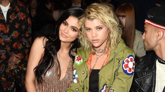 Sofia Richie Holds Hands With Her 'Twinny Twin Twin' Kylie Jenner During Epic Kylie Skin Girls Trip