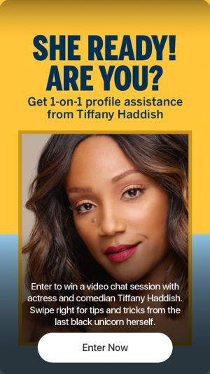 Tiffany Haddish Partners With Bumble To Help End Your Disaster Dates